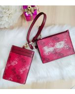 Coach F84637 Lanyard Set With Horse And Carriadge Print