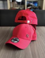 New Era 9FORTY Adjustable NY Yankee Mini metal- Red