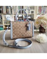 Coach F72840 Small Zoe Carryall in Signature Canvas