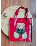 Harrods Small Christmas Bear 2020 Tote Bag