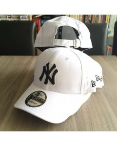 New Era 9forty NY Yankee White