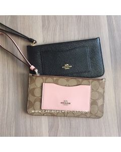 COACH ZIP TOP WALLET F39236