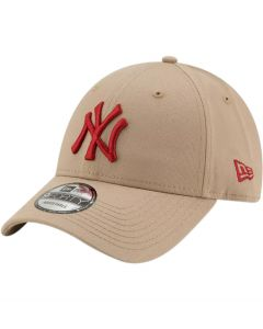 New Era 940 NY Yankee Essential Camel Baseball Cap
