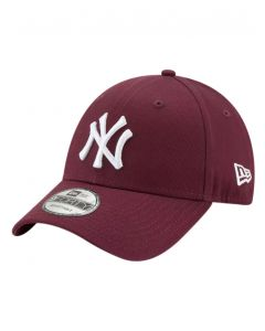New Era 9Forty NY Yankee Adjustable Maroon