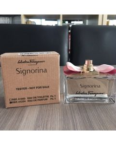 Salvatore Ferragamo Signorina for women EDP 100 ml. (tester)