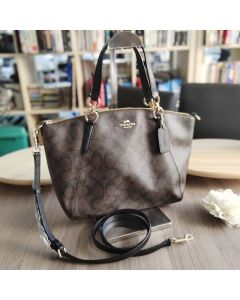 Coach F28989 Small Kelsey in Signature 13""