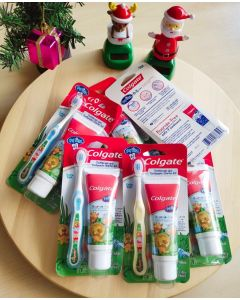Colgate My First Baby and Toddler Toothpaste & Toothbrush