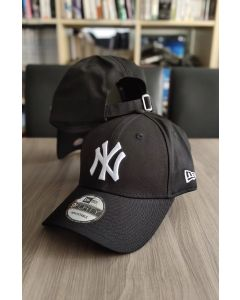 New Era 9FORTY Adjustable NY Yankee BLACK