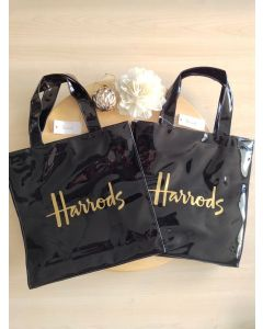 Harrods Small Logo shopper Bag