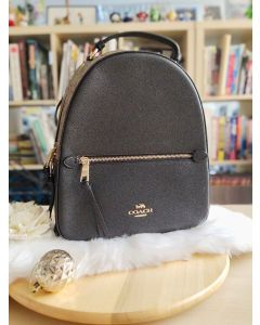 Coach F76715 Jordyn Backpack in Signature Khaki Brown