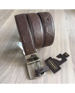 Coach Men F55158  Reversible Belt Mahogany