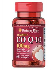 Puritan's Pride Co Q-10 100mg 60เม็ด