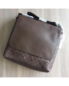 Coach Men F72220 Charles Messenger In Signature Leather