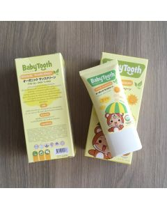 BabyTooth Organic Sunscreen SPF 50 PA++++