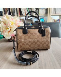COACH F32203 MINI BENNETT SATCHEL IN SIGNATURE CANVAS