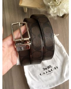 Coach Men F64825 BELT SIGNATURE (brown)