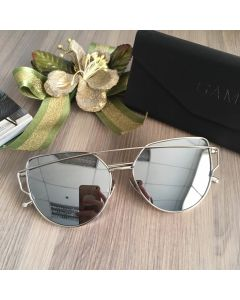 Gamt Metal Cateye Polarized (ฺSilver)