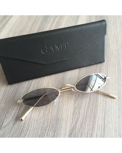 Gamt Vintage Oval Sunglasses Candy Colors (Grey)