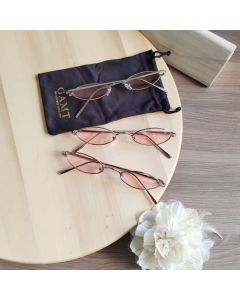 Gamt Vintage Oval Sunglasses Candy Colors (Pink)