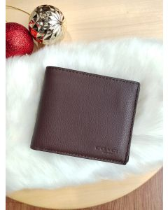Coach F74991 Compact ID Wallet In Sport Calf Leather