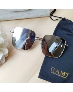 Gamt Polarized Sunglasses 60mm (Silver)