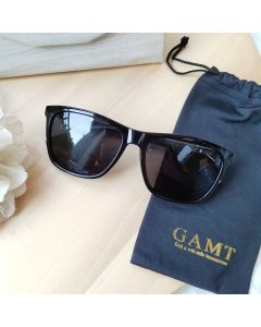 Gamt Polarized Men Sunglasses 55mm (Black)