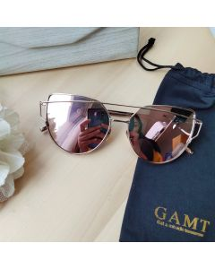 Gamt Metal Cateye Polarized (Rosegold)