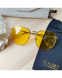 Gamt Sunglasses Polarized 59mm (Yellow)