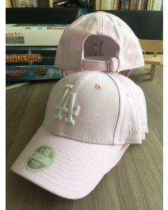 New Era 9forty LA Dodgers Pink pastel