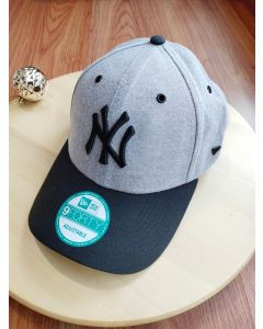 New Era 9FORTY Adjustable NY Yankee Black - Grey