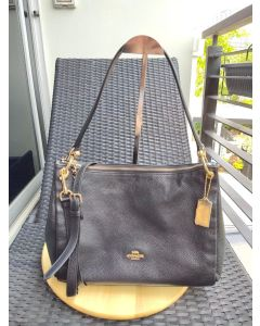 COACH F28966 MIA SHOULDER BAG - Black