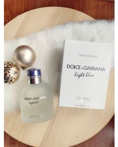 DOLCE & GABBANA Light Blue Pour Homme EDT 125 ml. (tester)