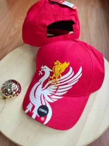 Liverpool FC Red Mass 47'brand MVP Adjustable Obsidian Cap - Red