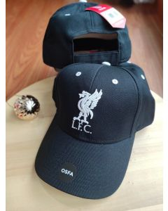 Liverpool FC Black Mass 47'brand MVP Adjustable Kleberg Cap