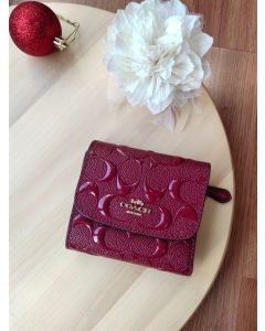 Coach F88907 Small Wallet (RED)