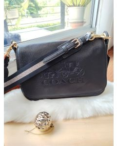 Coach F72703 Jes Messenger (BLACK)