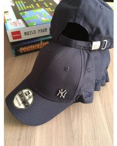 New Era 9FORTY Adjustable NY Yankee Mini metal- Navy