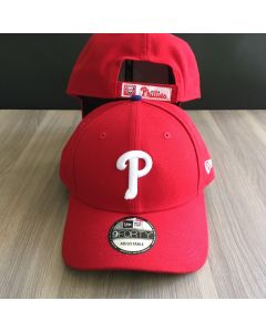 Philadelphia Phillies New Era 9Forty Adjustable Red