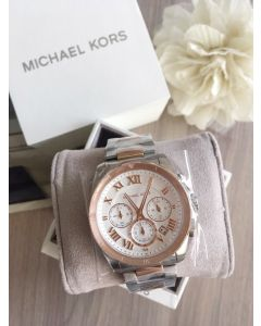 Michael Kors Women's Brecken Two-Tone Watch (MK6368)
