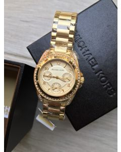 Mk5639 Woman's Blair GOLD STAINLESS 33mm