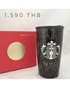 Starbucks NYC Ceramic Travel Mug