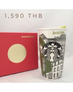 Starbucks celebrates Boston as a city filled Ceramic Travel Mug