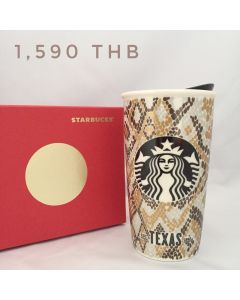 Starbucks Texas Ceramic Travel Mug