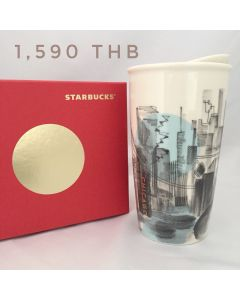 Starbucks Chicago 2015 Ceramic Traveler Tumbler Mug