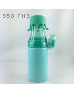 Splash Lid Water Bottle Teal