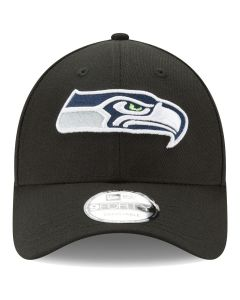 Seattle Seahawks New Era The League 9FORTY Adjustable Hat - Black